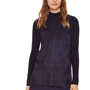 Tory Burch Pieced Suede Tunic | Small